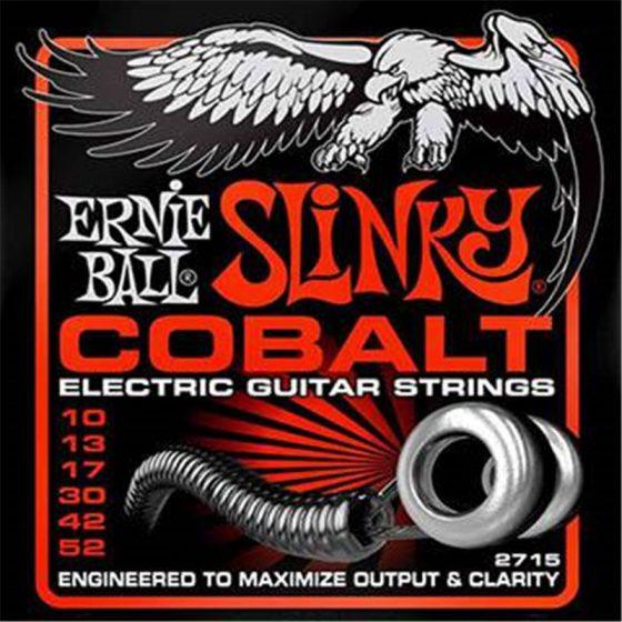 cuerdas Ernie Ball Skinny Top Cobalt 2715 10-52