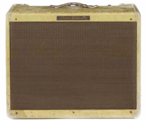 amplificador de eric clapton fender twin 1957