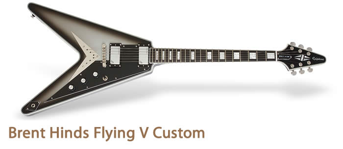Brent Hinds Flying V Custom Brent Hinds