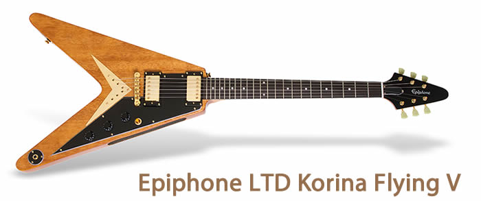 Epiphone LTD Korina Flying V
