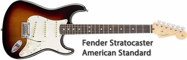 Fender American Standard Stratocaster RW 3TS · Guitarra eléctrica
