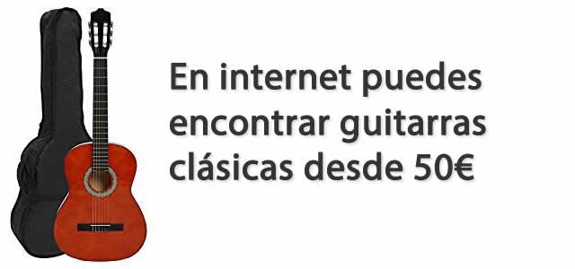Guitarras baratas desde 50 euros