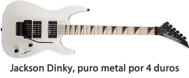 guitarra barata Jackson Dinky