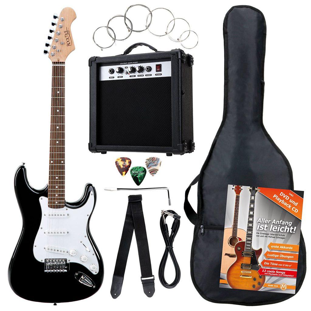 cómo elegir una guitarra eléctrica para empezar