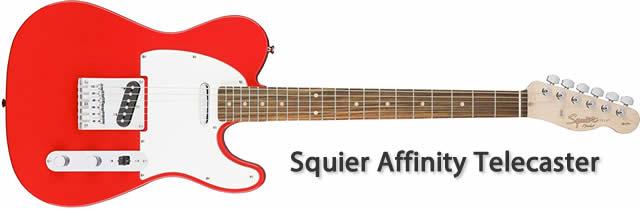 Fender Squier Affinity SeriesTM Telecaster, Maple Fi Guitarra Eléctrica