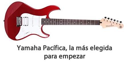 guitarra barata yamaha pacifica