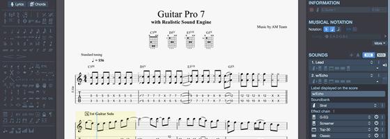 app para aprender guitarra guitarpro