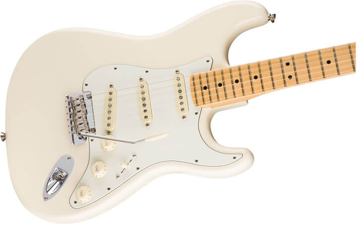 guitarra Fender American Professional Stratocaster MN Olympic White