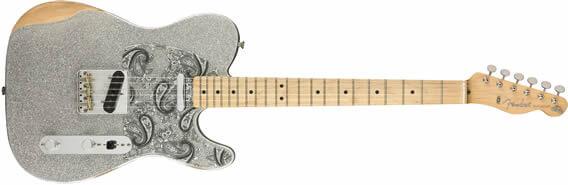 guitarra Fender Brad Paisley Road Worn Telecaster