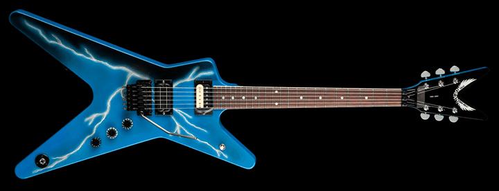guitarra dean de dimebag darrell