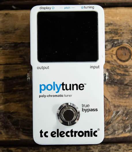 afinador de guitarra polytune tc electronics