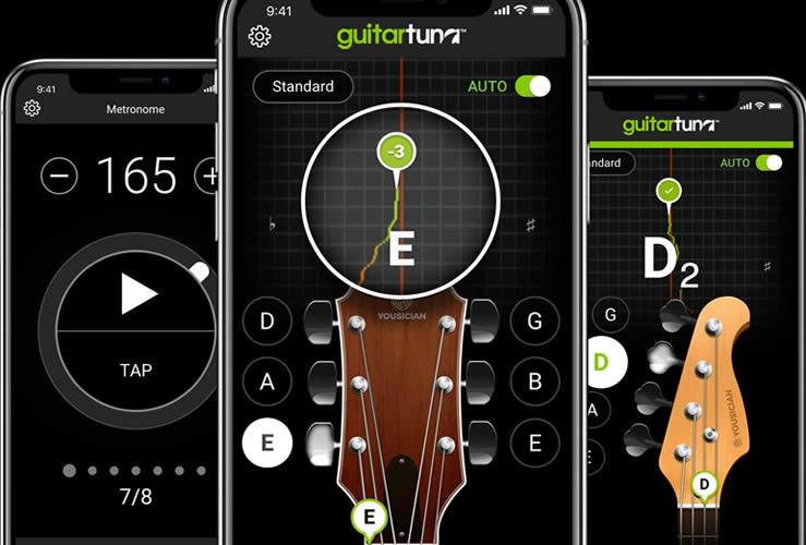 guitar tuna app afinador de guitarra gratis