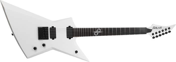 guitarra electrica solar guitars modelo E1.6ETWHM