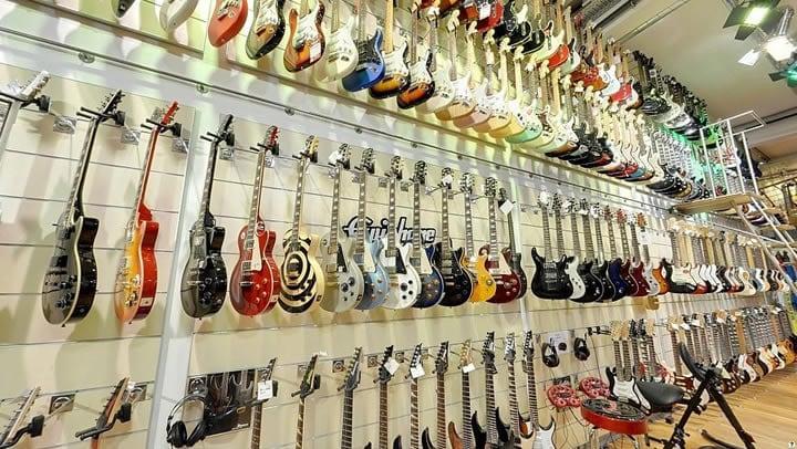 thomann tienda de guitarras