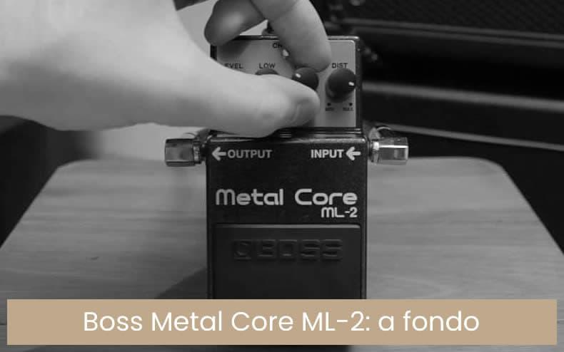 Boss - Ml 2 pedal de efectos