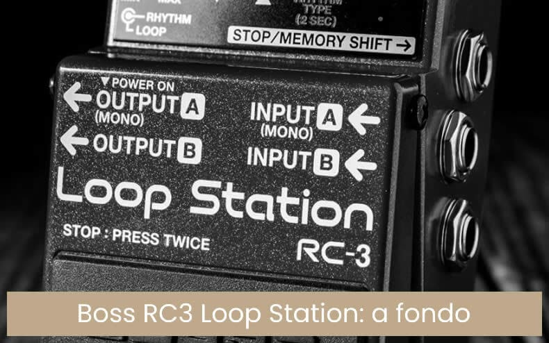 RC-3(T) - Pedal Loop Station Boss RC-3
