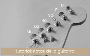 Notas de la guitarra